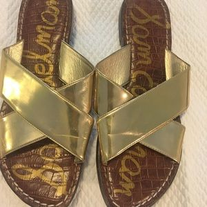 Sam Edelman Kora Gold Sandals